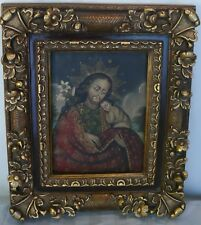 Religious Christianity Saint Joseph Christ Child Jesus oil painting framed