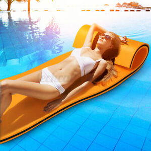 4-Layer Floating Water Pad Water Sports Float Mats Family Recreation Boat Beach