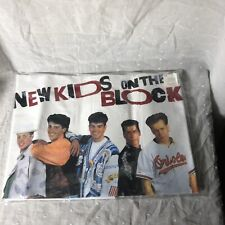 Deadstock Vintage 1990 Nkotb Pillow Case Unopened New