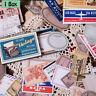 Stationery Retro Matchbox Vintage Stamp Stickers Scrapbooking Paper Sticker--