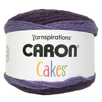 Caron Cakes Self-Striping Yarn - Bumbleberry - Acrylic & Wool - 7.1 oz, 383 yds
