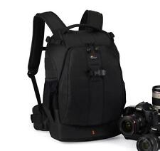 Black Lowepro Flipside 400 AW Photo Bag Digita SLR Camera Backpack with Cover