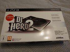 PS3 DJ Hero 2  Sony PlayStation 3 Turntable + Game Bundle ***New & Sealed***