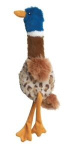 Ethical Pet Spot Skinneeez Plus Duck 15 inch | Plush Squeaker Dog Toy
