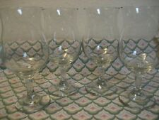 "New listing 4 LibbeyKentfield Belgium Style Beer Glass Tulip Balloon Goblet 6 3/4"" Lot B"
