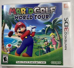 Mario Golf: World Tour (Nintendo 3DS) USA region