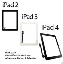NEW iPad 2/3/4 Front Glass Digitiser Touch Screen Assembly A1395 A1416 A1458