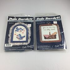 Lot of 2 Vintage Dale Burdett A Country Cross Stitch Kit  NOS