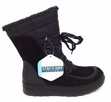 BareTraps Womens Lancy Snow Winter Boot Lined Black Size 6 M US