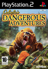 Cabela's Dangerous Adventures PS2 Sony PlayStation 2 PS2 PAL Brand New