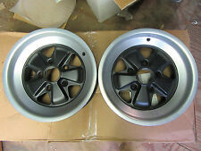 Porsche 911 914 gt 944 Forest brand fuchs windmill alloy wheel 7x15 set of two