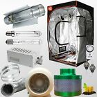 250/400/600/1000W Magnetic HID Ballast Grow tent Cooltube MH/HPS Hydroponic kit