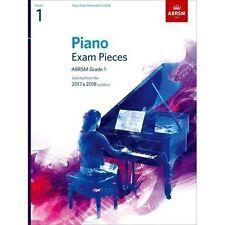 Piano Exam Pieces 2017 & 2018, ABRSM Grade 1, Sheet Music