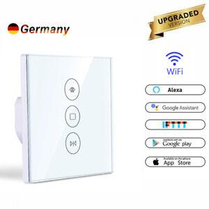 Smart Wifi WLAN Schalter Zeitschaltuhr APP Touch für Rolladen Jalousie Rohrmotor