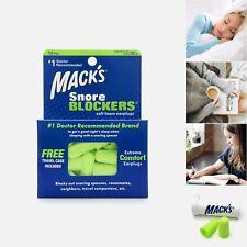 Mack's Snore Blockers Soft Foam Earplugs, 12 Pair - Macks Anti Snoring Ear Plugs