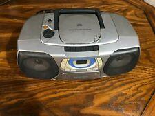 Phillips Magnavox AZ1020/17 AM/FM CD Cassette Recorder Player Tested Working