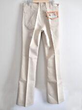 NOS 70s Vtg Levi's Mens 517 Sta-Prest Saddleman Boot Cut Pants Talon Zip 34 USA
