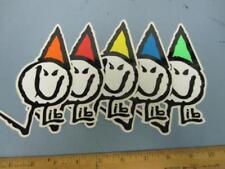 LIB TECH snowboard skateboard ski surf Poly Logo 5 Sticker set New Old Stock