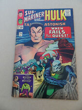 Tales To Astonish 74 . Hulk / Sub - Mariner . Marvel . 1965 . VG +