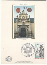 CARTE MAXIMUM FRANCE TIMBRE N° 2479 LA PORTE D HONNEUR LA FLECHE