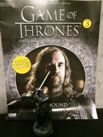 Game Of Thrones GOT Official Collectors Models #3 The Hound Figurine (Sandor Cle
