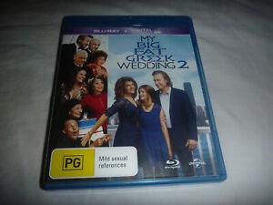 My Big Fat Greek Wedding 2 - Blu-Ray - VGC - Region B