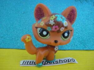 ORIGINAL littlest pet shop authentic glitter fox 2341