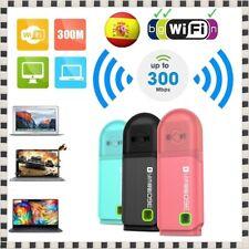 Mini Router Transmisor 360 WIFI 3 USB Portátil Red Inalámbrico 300Mbps LAN