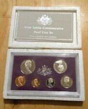 1977 Royal Australian Mint 6 Coin Proof Jubliee Set - With Foam & certificate