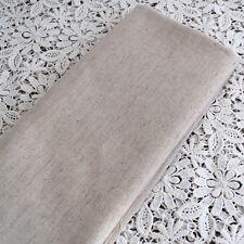 Giapponese Plain cotone misto lino tessuto artigianale-FQ - 55cm Larghezza x 50 cm lungo