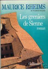 LES GRENIERS DE SIENNE / RHEIMS / NRF GALLIMARD