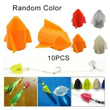 10Pcs Fishing Line Rattle Tackle Line Rattle Terminal For Catfish Line Lure
