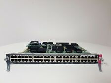 CISCO WS-X6748-GE-TX Cat6500 48-port 10/100/1000 £20 + VAT