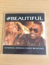 MARIAH CAREY Ft MIGUEL & ASAP - BEAUTIFUL - 7 REMIX RARE U.S CD PROMO