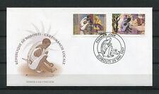 Djibouti 1997 Mi. 635-636 Cartomancie magie voyance FDC Premier Jour