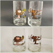 New listing Vtg '81 Arby's B.C. Ice Age Collector's Series Caveman Grog Anteater Zot Glasses