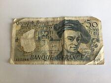 Billet France 50 Francs Quentin De La Tour 1979 (91-34)
