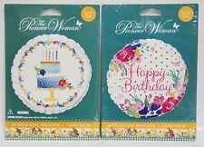 "PIONEER WOMAN - HAPPY BIRTHDAY BALLOON LOT - (2) 18"" INCH / FOIL - HELIUM or AIR"