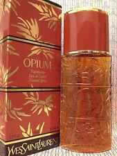 Vintage RARE 1980s YSL Opium LARGE 3.3 oz 100 ml Eau de Toilette FIRST FORMULA