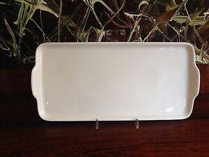 Dibbern Fine Bone China - Precious Plate/Stollen Plate 32cm x15 - New Product