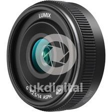 Panasonic Lumix G 14mm f/2.5 II Lens BLACK (H-H014AE-K)