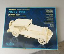 Vintage#Holzbausatz Assembly Kit MG TC 1945 Weico#NIB SEALED