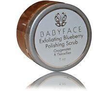 BABYFACE Exfoliating BLUEBERRY Face Body Leg Polishing Scrub Smooth Skin