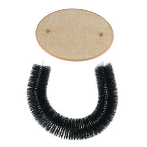 Pet Cat Kitten Self Groomer Arch Massager Brush Scratcher Pad Toy All Ages