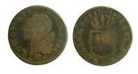 s55_51) France Louis XVI - 1 SOL A L'ECU - 1784 I