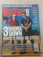 Guitar One Magazine Yngwie Malmsteen Nazareth January 2001