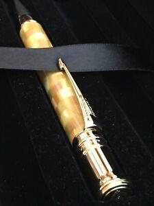 Parker Duofold Ballpoint Pen Citrine Centennial