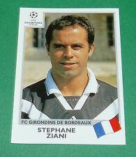 N°269 ZIANI FC GIRONDINS BORDEAUX PANINI FOOTBALL CHAMPIONS LEAGUE 1999-2000