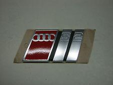 AUDI s2 89 b4 emblema logo 895853735b PORTELLONE AVANT LIMOUSINE COUPE 20v