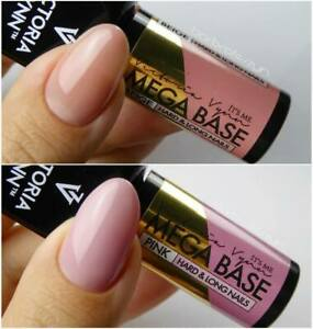 Victoria Vynn Hardi Mega Base Top UV Led Hybrid Gel Polish Clear Beige Pink 2021